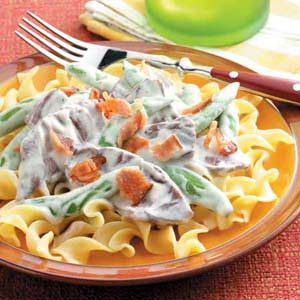 Blue Cheese Stroganoff Recipe