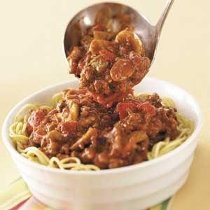 Hearty Homemade Spaghetti Sauce