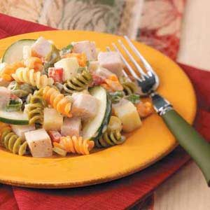 Smoked Turkey Pasta Salad Recipe