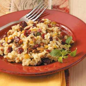 Pistachio Cranberry Orzo Recipe
