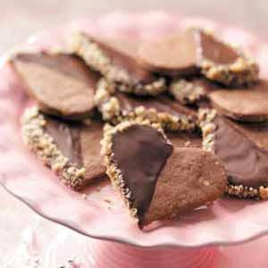 Walnut Chocolate Hearts