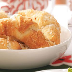 Coconut Crescent Rolls Recipe