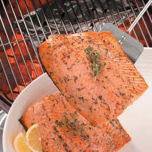 Barbecued Salmon Recipe