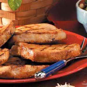 Grilled Lemon Pork Chops Recipe