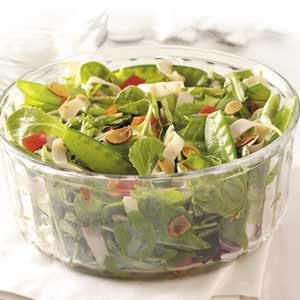 Teriyaki Turkey Tossed Salad Recipe