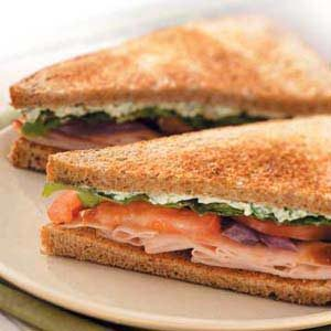 Special Turkey Sandwiches Recipe