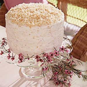 Rave Review Coconut Cake Recipe