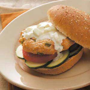 Contest-Winning Greek Turkey Burgers
