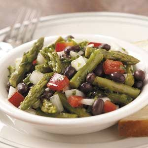 Asparagus and Black Bean Salad Recipe