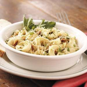 Nutty Cheese Tortellini Recipe