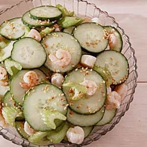 Sesame Cucumber Salad Recipe
