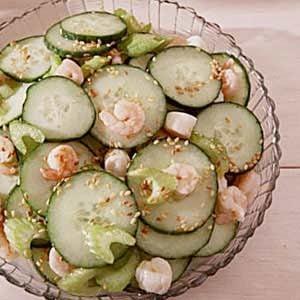 Sesame Cucumber Salad Recipe