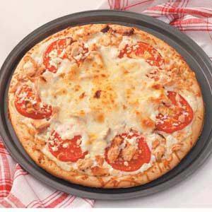 Kathy's Smoked Salmon Pizza