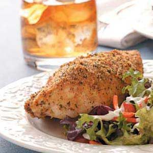 Parmesan Crust Chicken Recipe