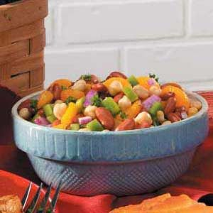 Summer Bean Salad Recipe