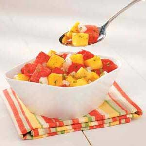 Southwestern Watermelon Salad