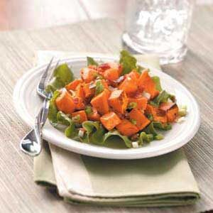 Warm Sweet Potato Salad