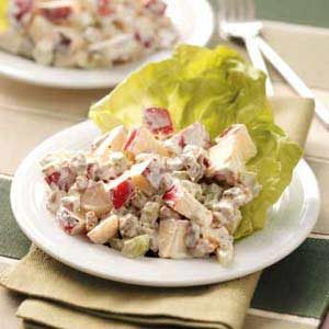 Waldorf Salad with Dates Recipe