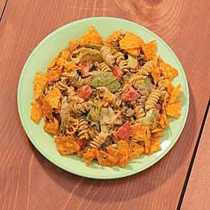 Pasta Taco Salad Recipe