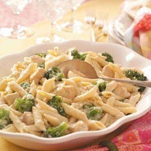 Gorgonzola Chicken Penne Recipe