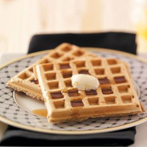 Nutmeg Waffles Recipe