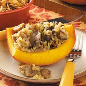 Sausage-Stuffed Pumpkins Recipe