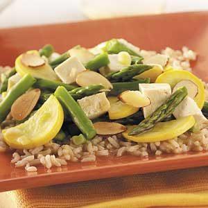 Asparagus Tofu Stir-Fry Recipe