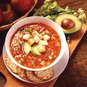 Summer Gazpacho Recipe