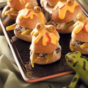 Spooky Monster Sandwiches