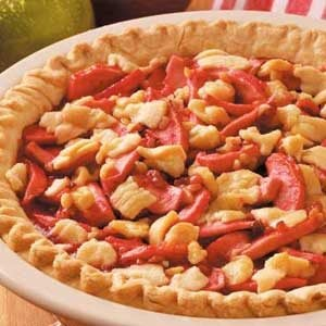 Candy Apple Walnut Pie Recipe