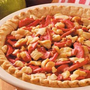 Candy Apple Walnut Pie Recipe