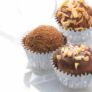 Cocoa Mint Truffles Recipe