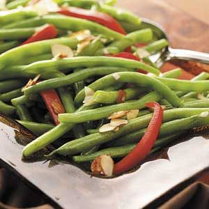Green Beans with Red Pepper Recipe