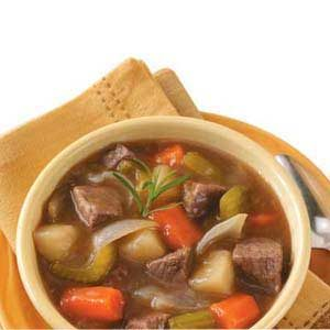 Vegetable Beef Stew for Two Recipe