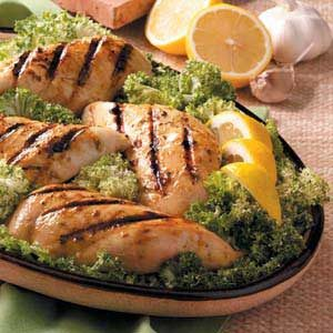 Mustard-Herb Chicken Breasts Recipe