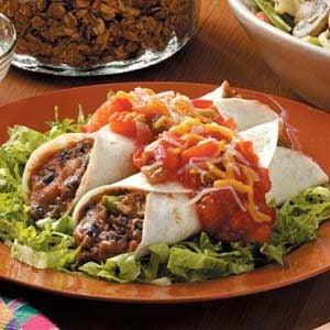 Meatless Black Bean Enchiladas Recipe