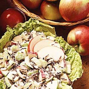 Wild Rice Apple Salad Recipe photo by Taste of Home