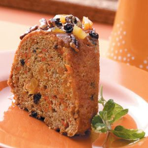 Fruit & Carrot Cake Recipe