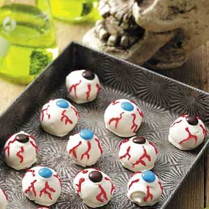 Scary Eyeballs Recipe