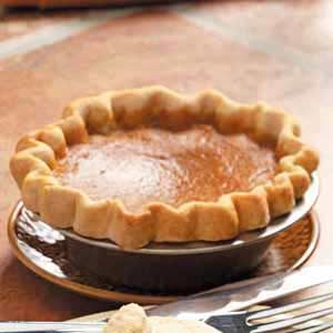 Homemade Maple Pumpkin Pie Recipe