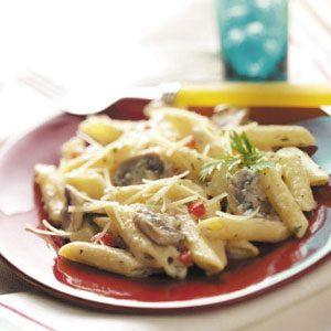 Creamy Parmesan Penne Recipe