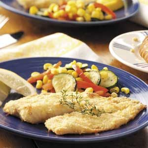 Parmesan Fish Fillets Recipe