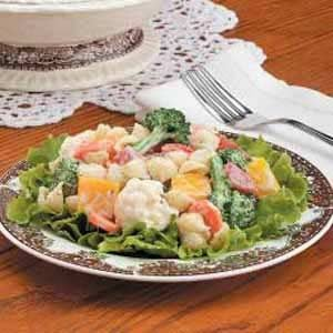 Fresh Vegetable Pasta Salad Recipe