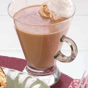 Warm Chocolate Eggnog Recipe