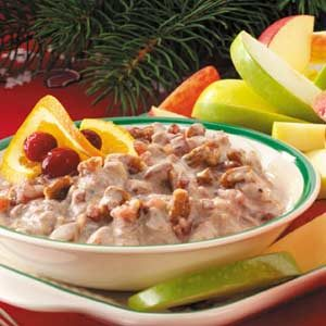 Cran-Orange Fruit Dip Recipe