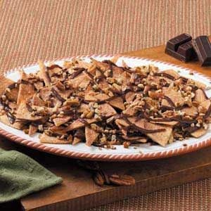 Cinnamon Chocolate Nachos Recipe