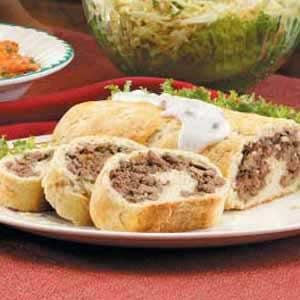Beef and Mushroom Roll Recipe