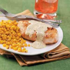 Chicken with Mustard Gravy