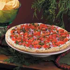 Smoked Salmon Tomato Pizza Recipe