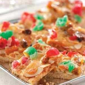 Cherry Almond Bars Recipe